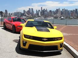 Rent a Camaro in New York